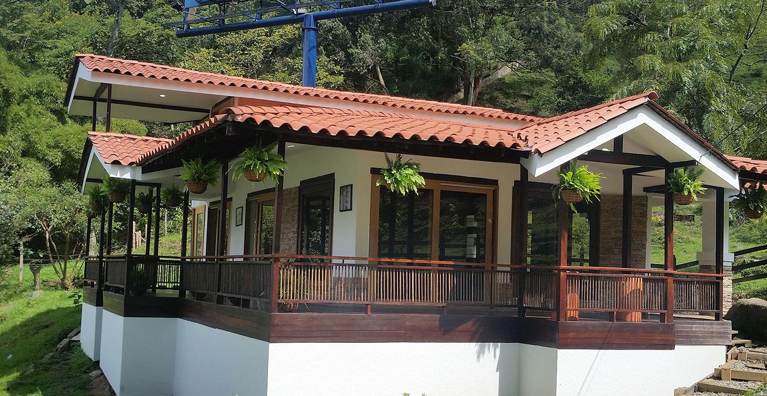 Casas modulares de diseo moderno casas modulares casas de madera modernas casas de diseo - Casas prefabricadas calidad ...