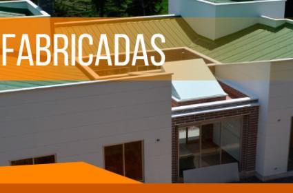 Casas prefabricadas en Bogotá y Medellín
