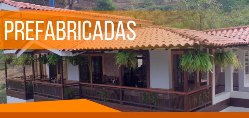 Casas prefabricadas, económicas y de excelente calidad