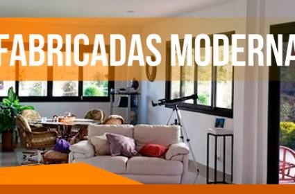 Diseño interior en las casas prefabricadas modernas