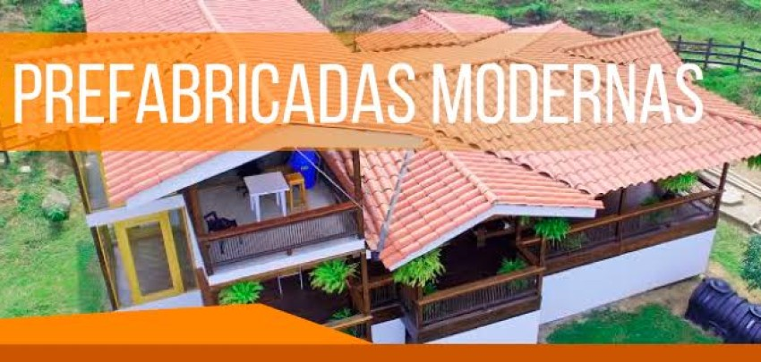 Las casas prefabricadas modernas una nueva y ecológica tendencia