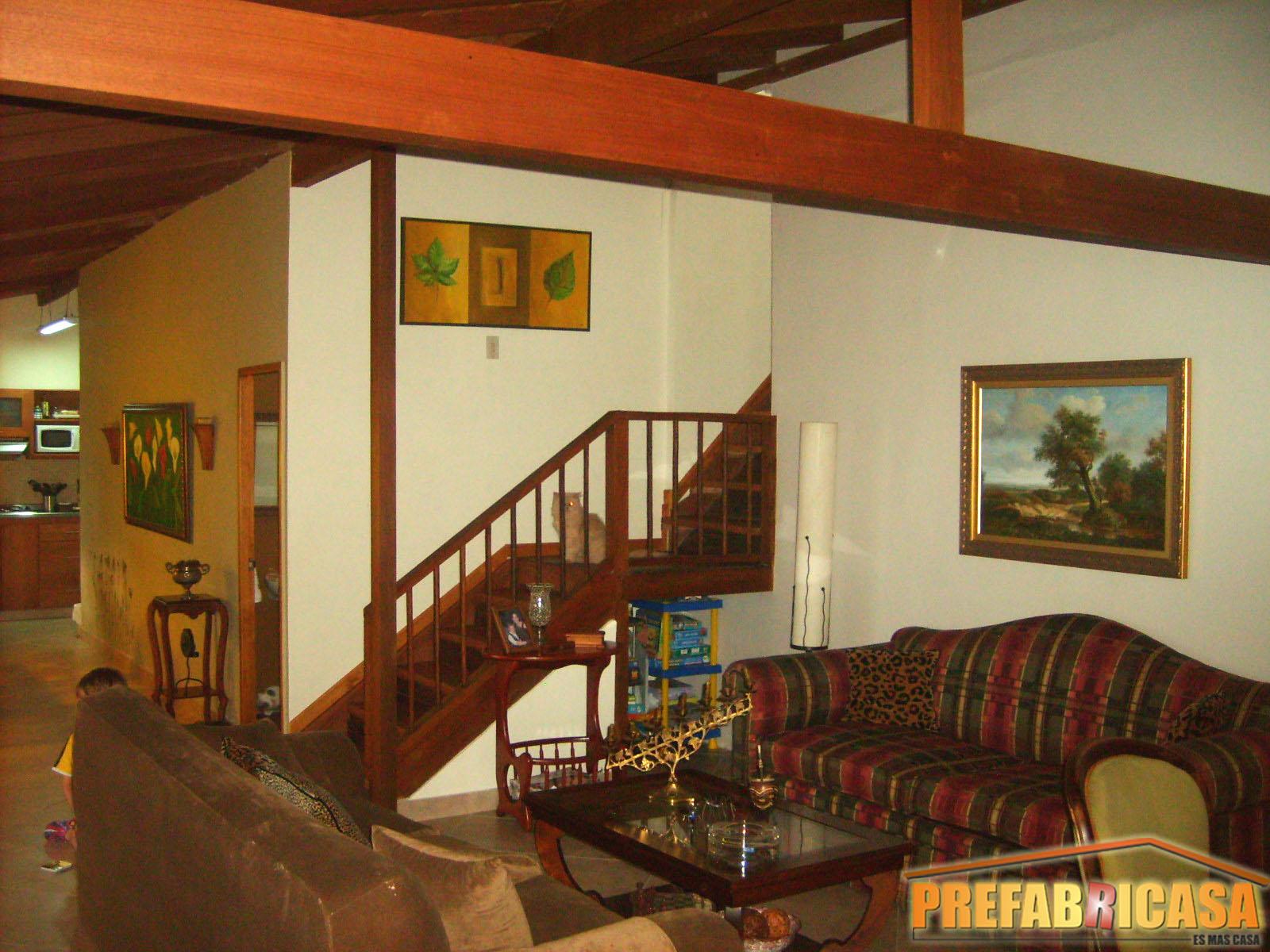 Elementos de nuestras casas prefabricadas casas prefabricadas - Casas de madera por dentro ...