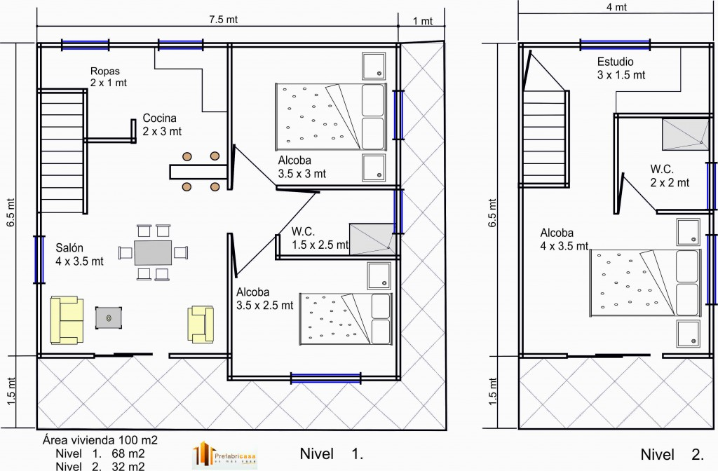 Casas Prefabricadas 100 m2