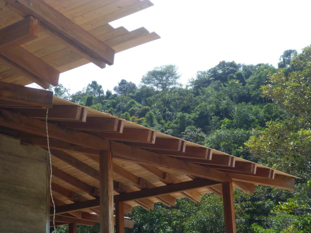 Construcci N De Techo Y Kiosco Casa Prefabricada 1235 Mts2